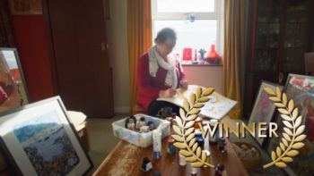"Permalink to: Best Documentary Short – ""Painting Myself Brave"" (UK)"